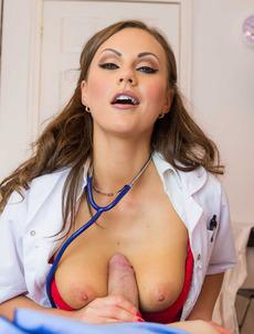 Horny Doc Tina Kay Fucks With Her Patient