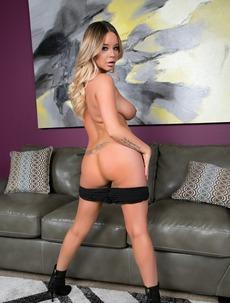 Blonde Bitch Rachele