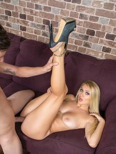 Natalia Starr Takes Cum On Her Tits