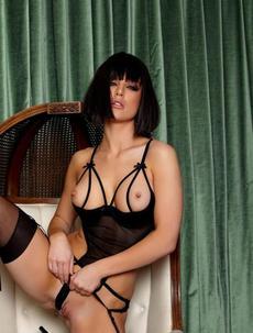 Kayden Kross revealing lingerie