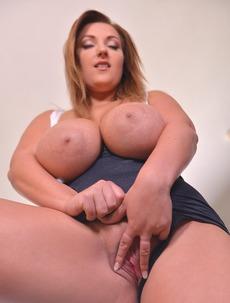 Krystal Swift Licks Own Tits