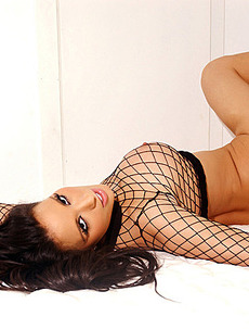 Tiffany Chambers Netted on the Bed