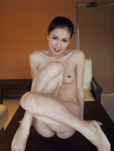 Lillian A Strips Fully Naked