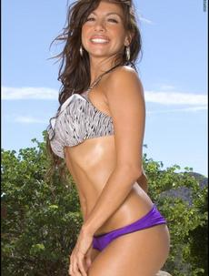 Candice Cardinelle Takes Off Purple Panties