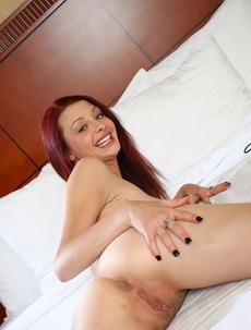 Big Boobed Ginger Girl Gets Nailed Hard