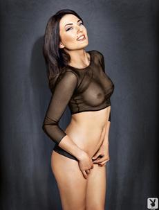 Sarah Mercnik Posing Naked