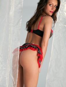 Kayla Love posing nude