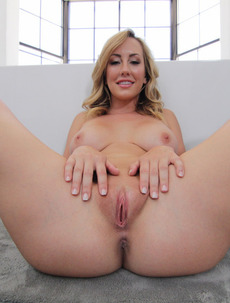 Brett Rossi Strips In The Bathroom
