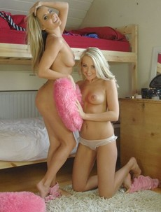 Becky Roberts and Lucy Anne