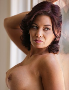 Busty Latina Mature Ryder Skye Gets Nude By The Window