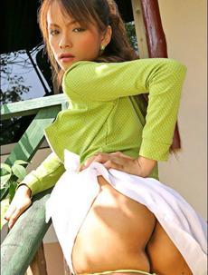 Teresa Chao In Backyard
