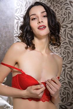 Elegant beauty Adel Morel