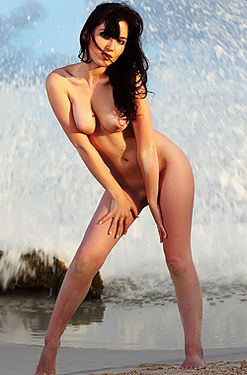 Aurea Nude By The Sea
