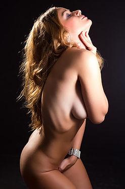 Naked Girl In Intimacy