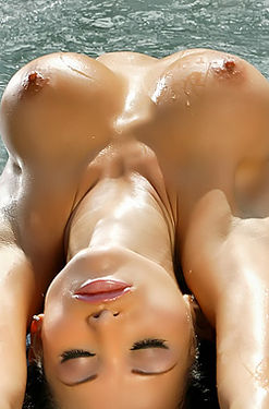 Lucia Tovar Busty Babe In Jacuzzi