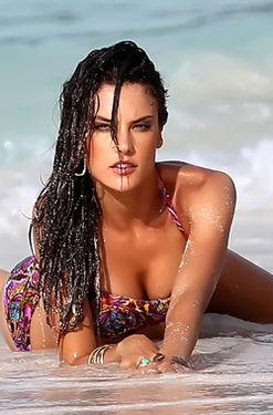 Alessandra Ambrosia In Bikini