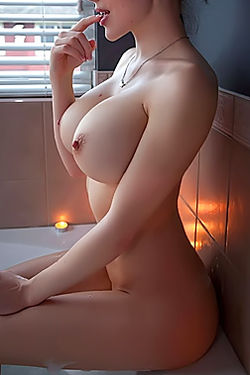 Busty Katie Banks Taking A Shower