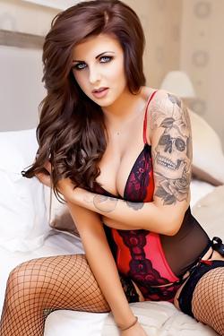 Courtney Tugwell Hot Lingerie