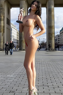 Micaela Schaefer Is Topless