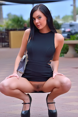 Black Haired Witch Marley Brinx