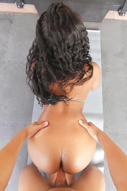 Curvy Ebony Jenna Foxx Fucked In POV Style