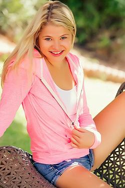 Mindy Corin Pink Hoodie