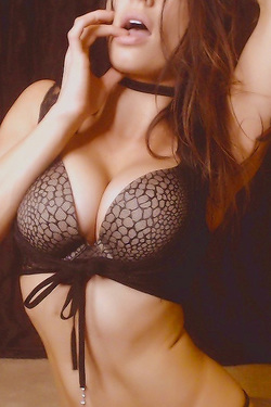 Busty Webcam Girl In Sexy Lingerie