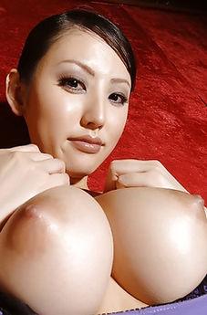 Big Boobed Asian Stockings