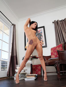 Blue Eyed Beauty Megan Rain Gets Naked