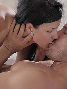 Gabriella and lucky Mr. X